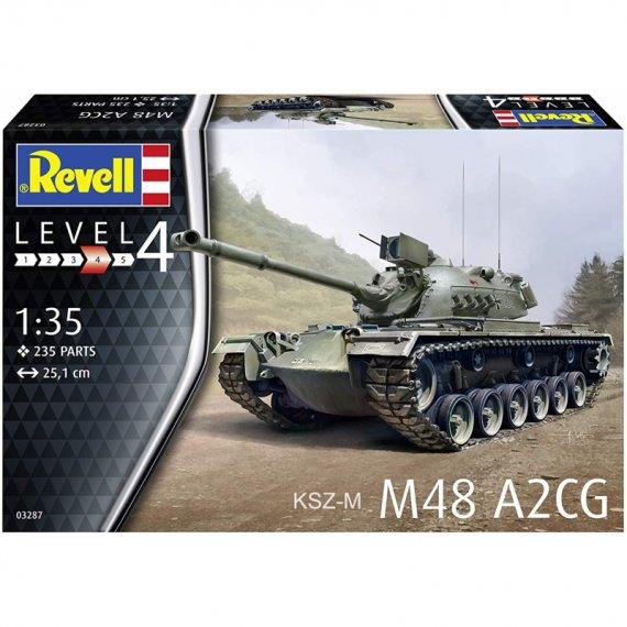Czołg M48 A2CG - REVELL 03287