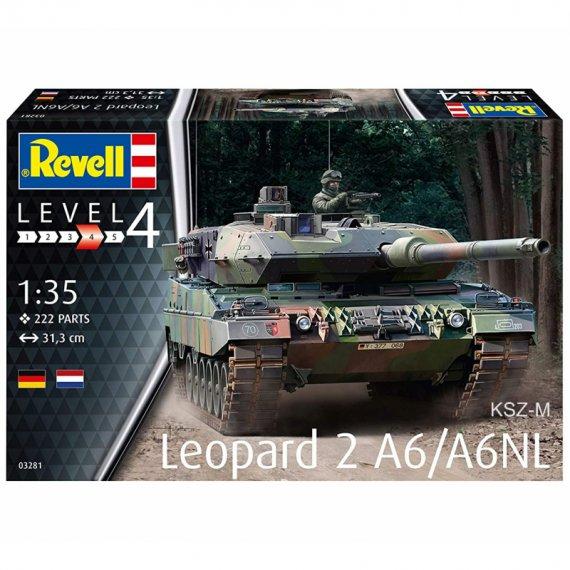 Leopard 2A6/A6NL - REVELL 03281