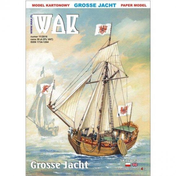 WAK 11/16 - Żaglowiec Grosse Jacht