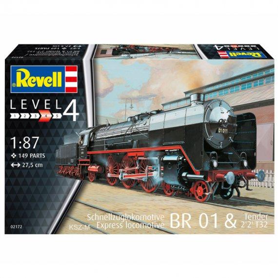 Schnellzuglok BR01 mit Tender 2'2' T32 - REVELL 02172