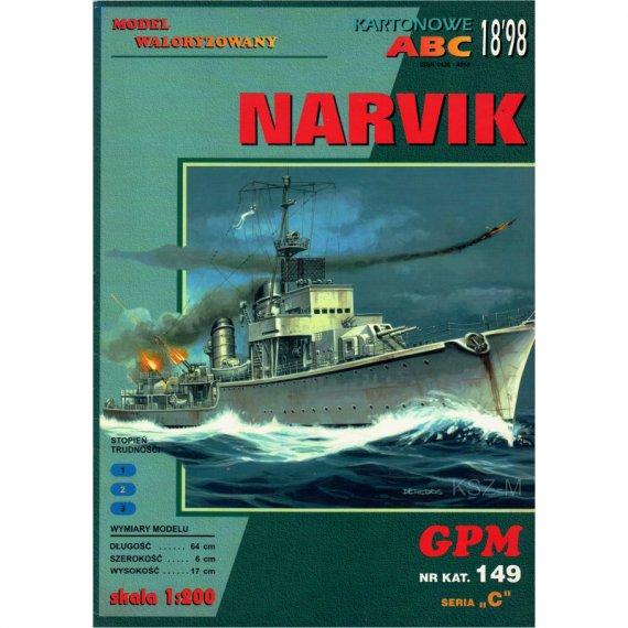 Niszczyciel Narvik - GPM 149