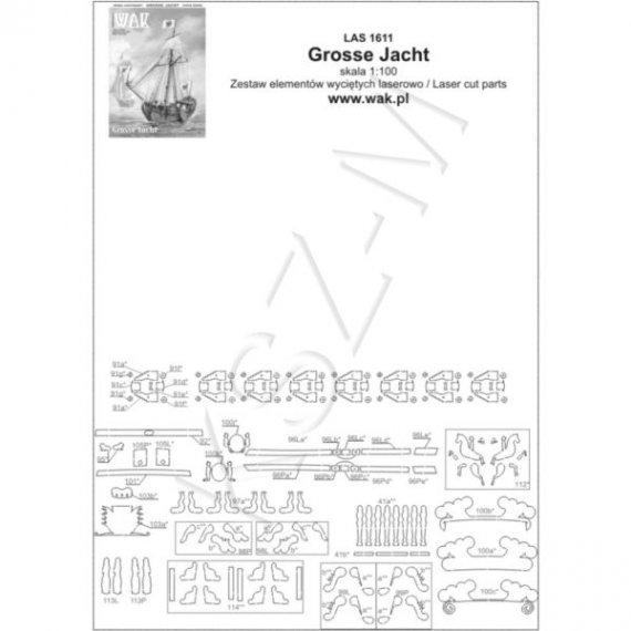 Laser do WAK 11/16 - Grosse Jacht