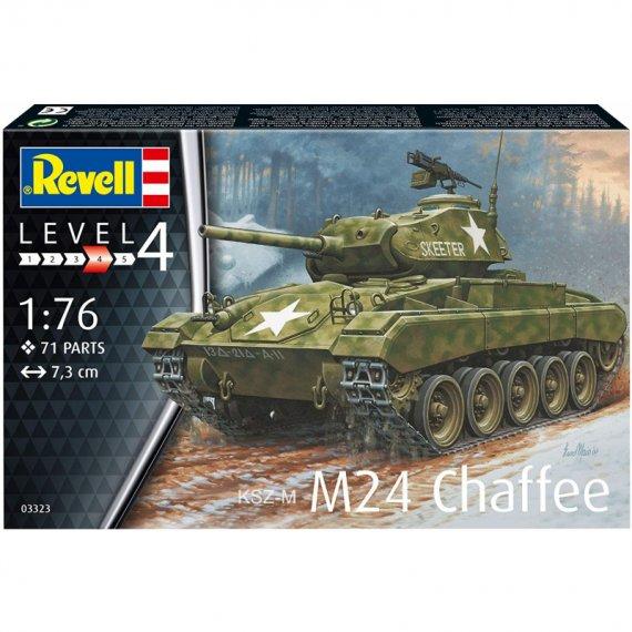 M24 Chaffee - REVELL 03323