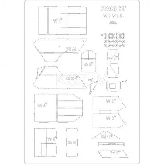 Szkielet do Ford 3 TON M1918 - Answer 7/17