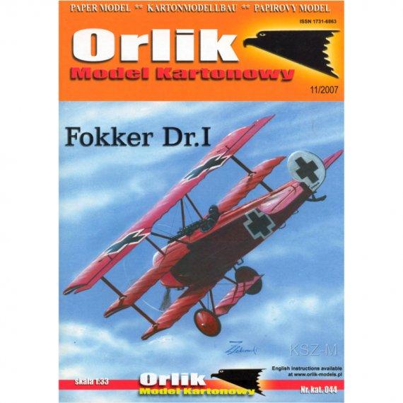 Fokker Dr I - Orlik 044