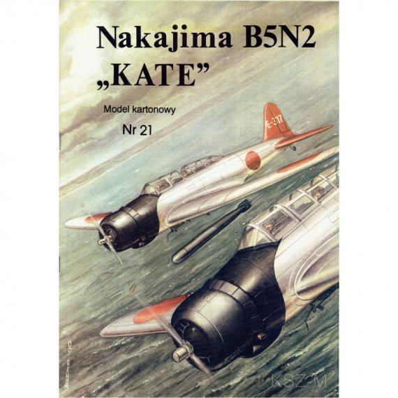 Nakajima B5N2 Kate - Model Card 21