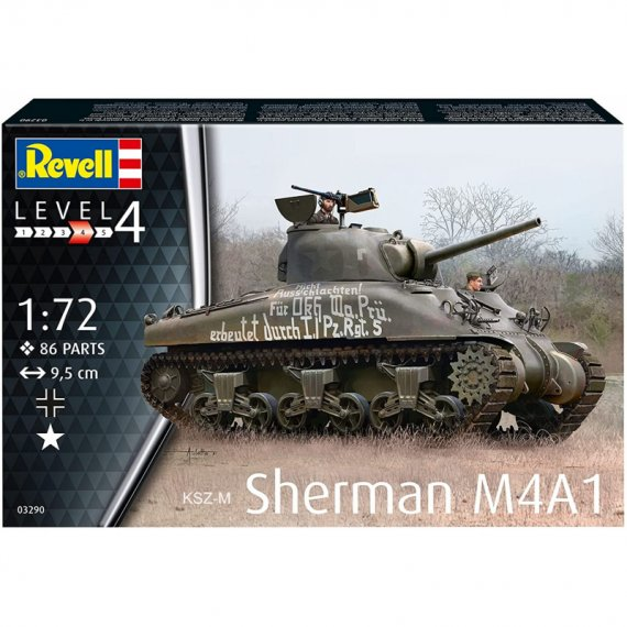 Sherman M4A1 - REVELL 03290