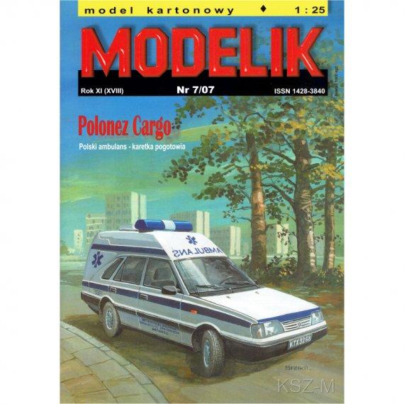 Polonez Cargo Ambulans - Modelik 7/07