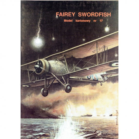 Fairey Swordfish Mk.I - Model Card 17