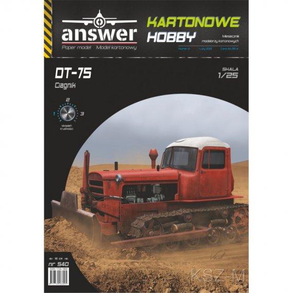DT-75 ciągnik gąsienicowy - Answer 540