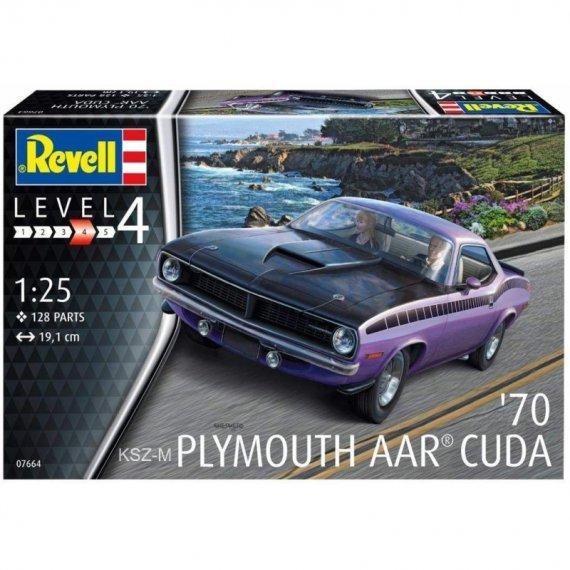 Plymouth AAR Cuda '70 - REVELL 07664