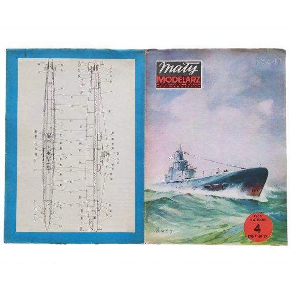 Okręt podwodny K-21 - Mały Modelarz 4/83