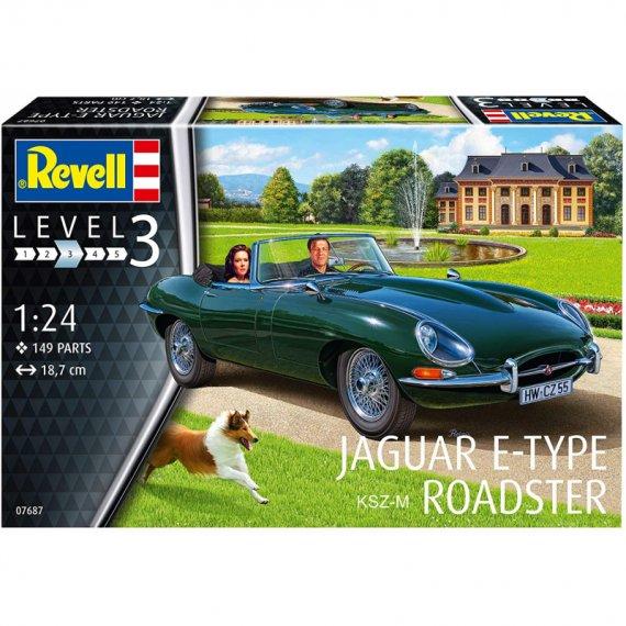Jaguar E-Type Roadster - REVELL 07687