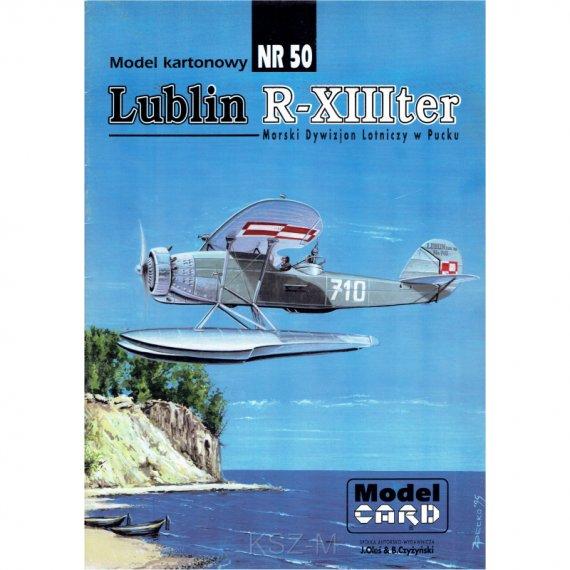 Lublin R-XIII TER - Model Card 50