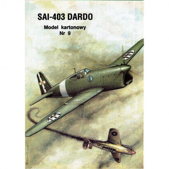Ambrosini SAI-403 Dardo - Model Card 9
