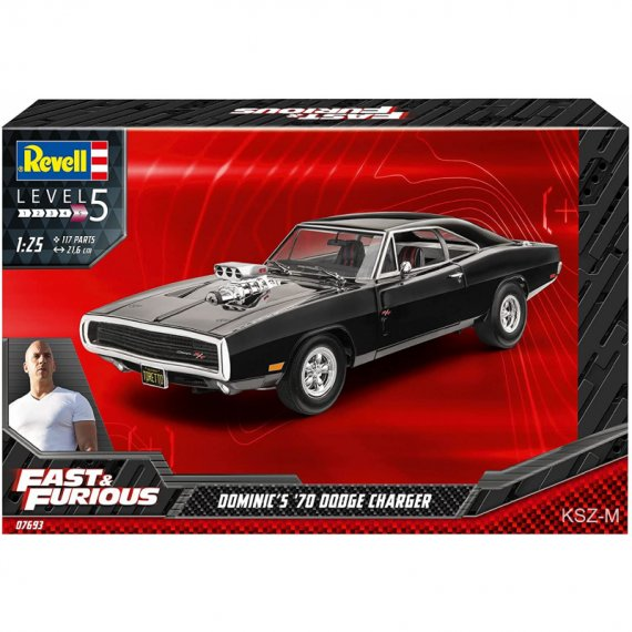 Dodge Charger 1970 Dominic's - Fast & Furious - REVELL 07693