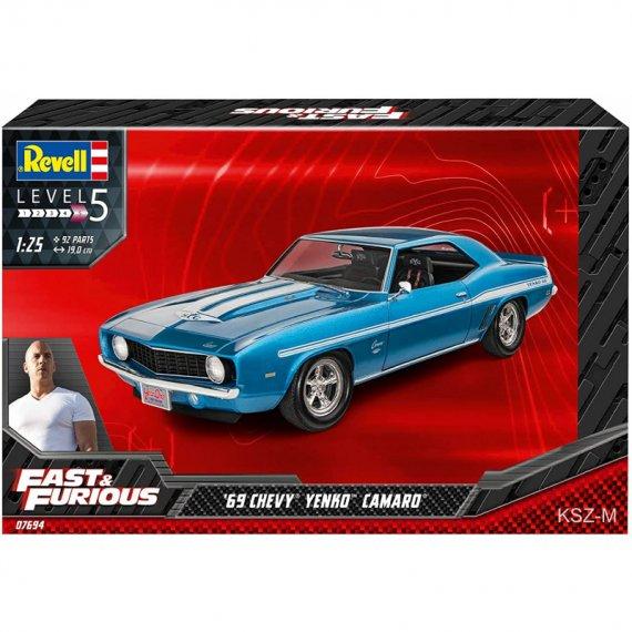 Chevy Camaro '69 Yenko - Fast & Furious - REVELL 07694