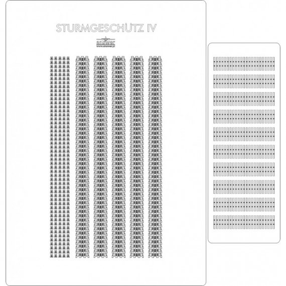 Gąsienice do Sturmgeschutz IV - Angraf 179