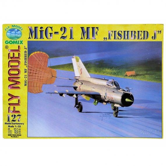 MiG-21 MF Fishbed J - Fly Model 127
