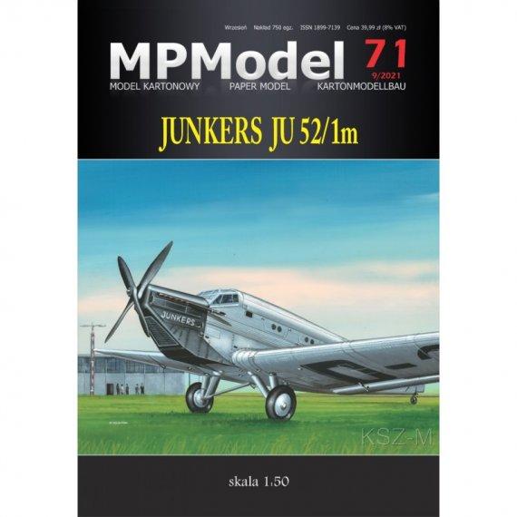 Junkers Ju 52/1m - MPModel 71