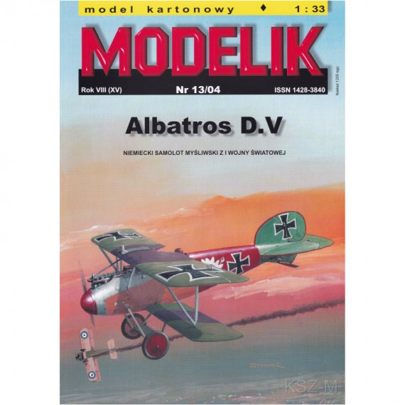 ALBATROS D.V - Modelik 13/04