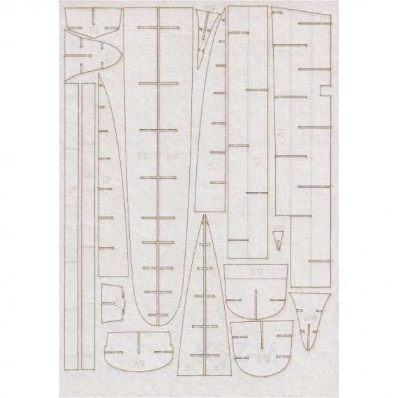 Szkielet do HMS Hesperus - WAK 1-2/15