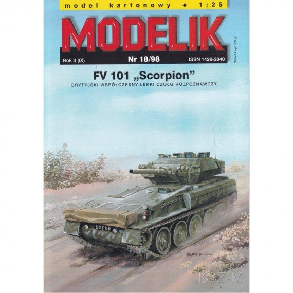 FV 101 SCORPION - Modelik 18/98