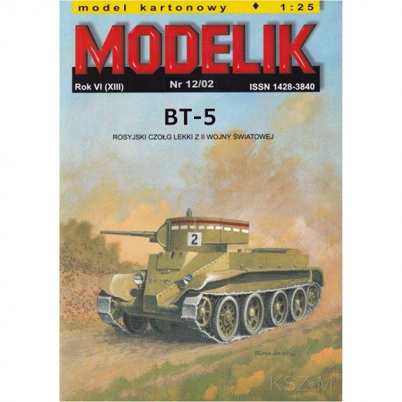 Czołg BT-5 - Modelik 12/02