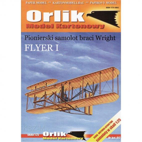 Flyer I - pionierski samolot braci Wright - Orlik 017