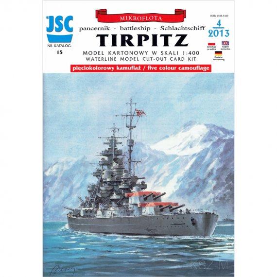 Pancernik TIRPITZ - JSC-015