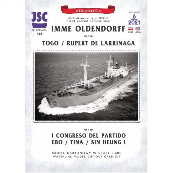 Frachtowiec typu SD14 IMME OLDENDORFF - JSC 418
