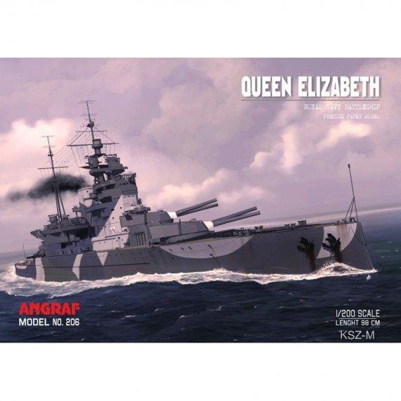 Pancernik HMS Queen Elizabeth - Angraf 206