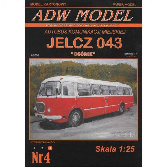"""Jelcz 043 MPK """"Ogórek"""" - ADW Model 4"""