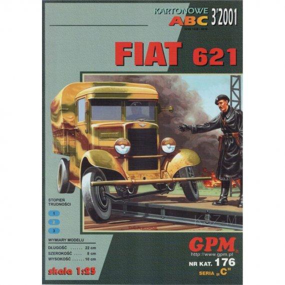 Samochód FIAT 621 - GPM 176