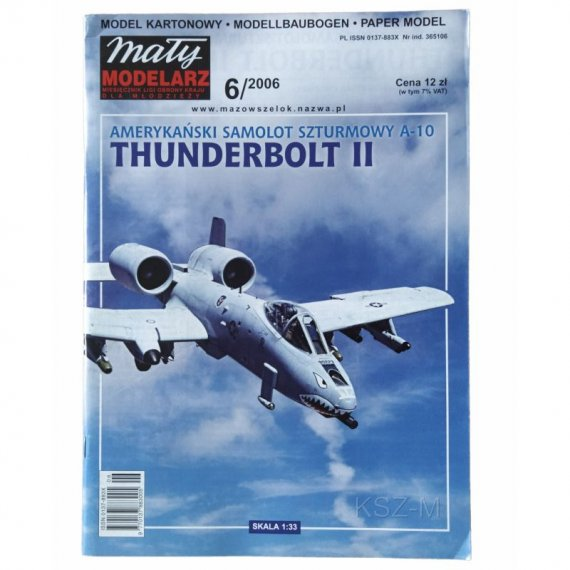 A10 Thunderbolt II - Mały Modelarz 6/06