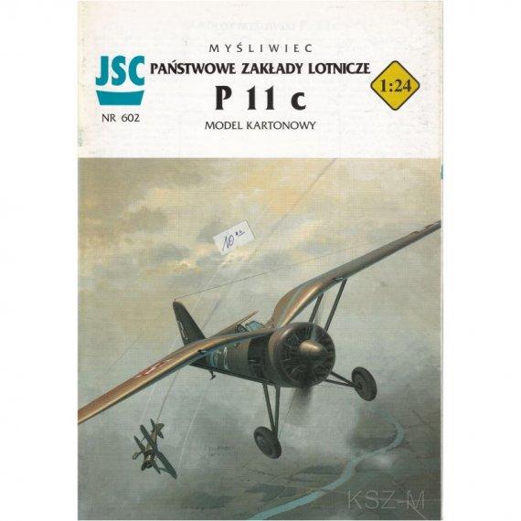 Myśliwiec P-11c - JSC-602