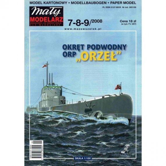 Mały Modelarz 7-8-9/08 - ORP Orzeł