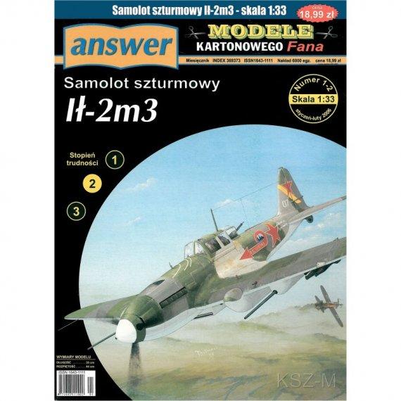 Samolot Ił-2m3 - Answer 1-2/06