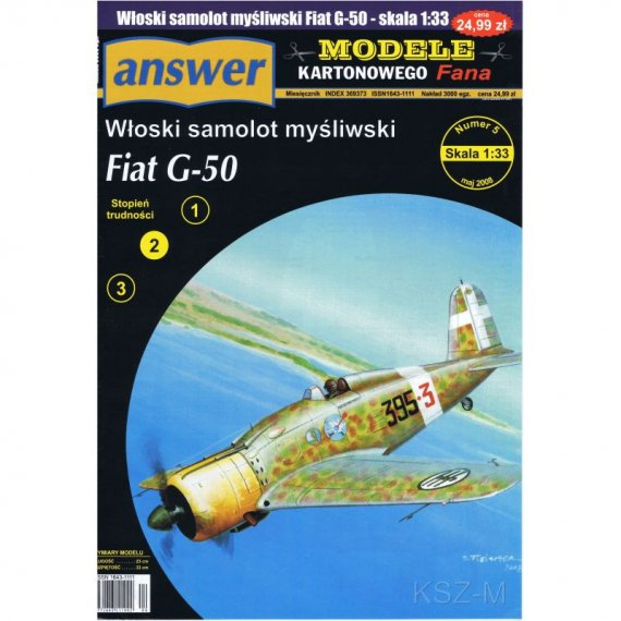 Samolot Fiat G-50 - Answer 5/08