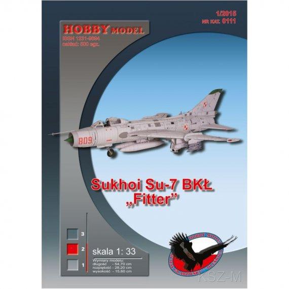 """Sukhoi Su-7 BKŁ """"Fitter"""" - Hobby Model 111"""