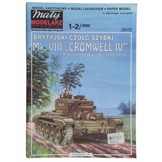 Czołg Cromwell IV - Mały Modelarz 1-2/2002