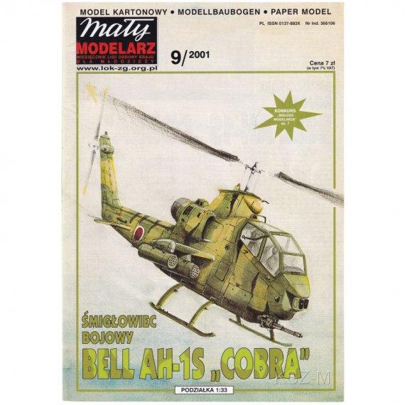 BELL AH1S Cobra - Mały Modelarz 9/2001