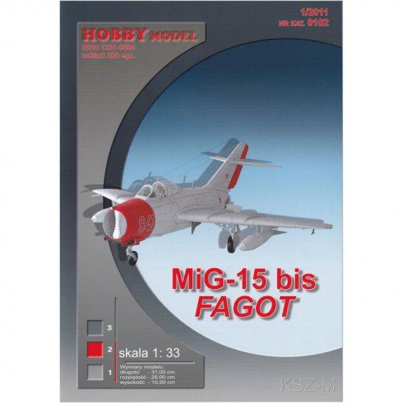 """MiG-15 bis """"Fagot"""" - Hobby Model 102"""
