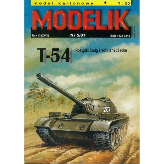 Czołg T-54 - Modelik 5/07