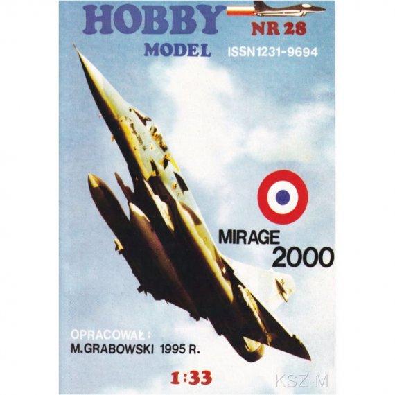 Mirage 2000 - Hobby Model 28