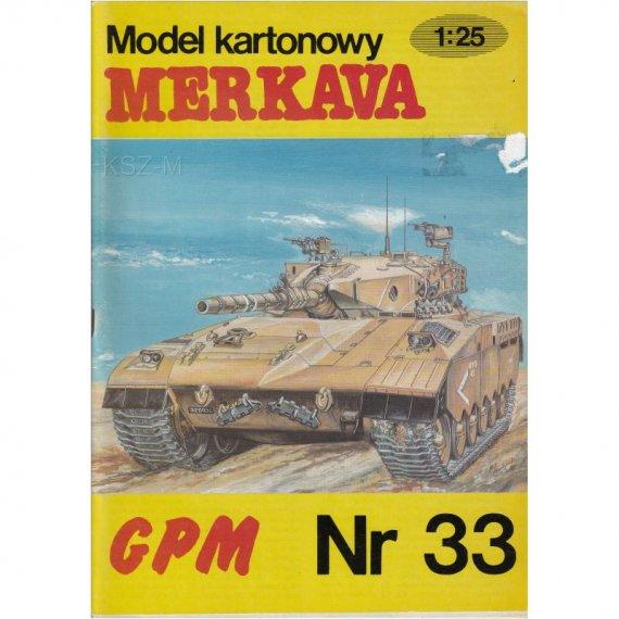 Czołg Merkava - GPM 33