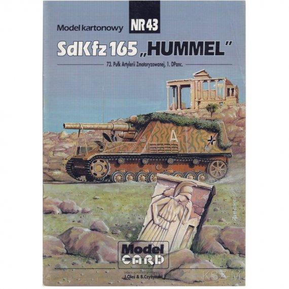 Sdkfz. 165 Hummel - Model Card 43