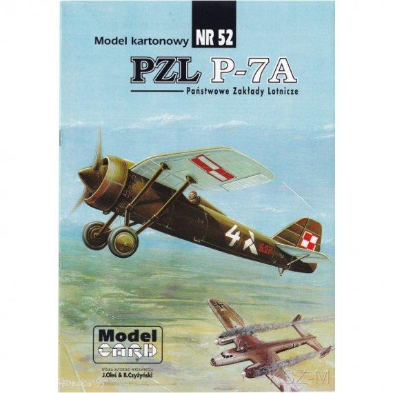 PZL P-7a - Model Card 52