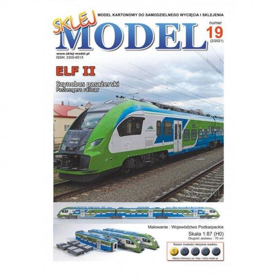 Pociąg Elf II - Sklej Model 19