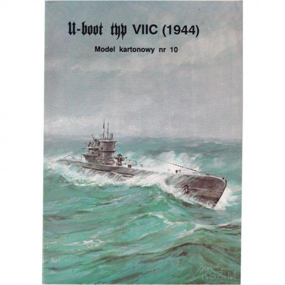 U-boot Typ VII C - Model Card 10